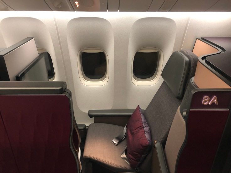 02 Cathay is Overrated Qatar Airways QSuite
