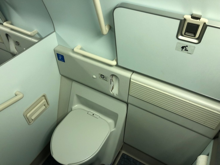 07 Cathay is Overrated Cathay Pacific Lavatory Spacious