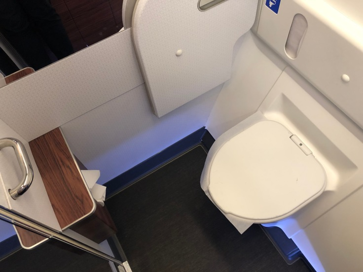 09 Cathay is Overrated Qatar Airways Lavatory Spacious