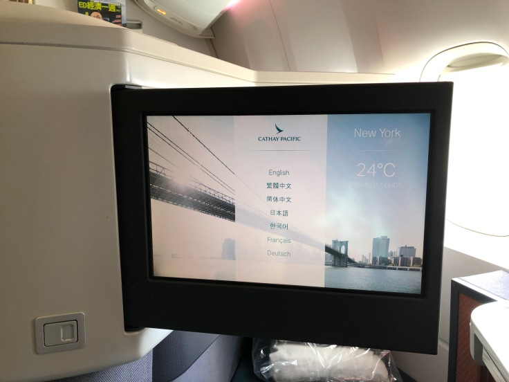 15 Cathay is Overrated Cathay Pacific Entertainment System