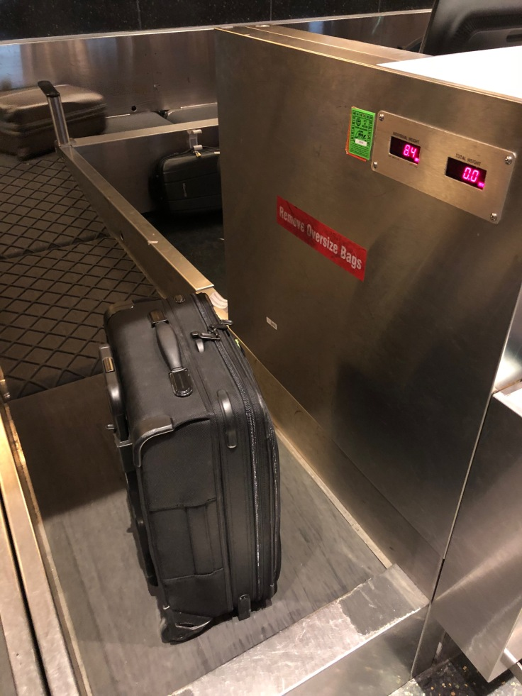 2019 Norwegian Air 01 BOS bag check