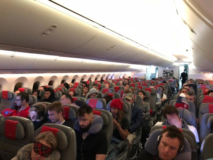 2019 Norwegian Air 02 cabin economy class