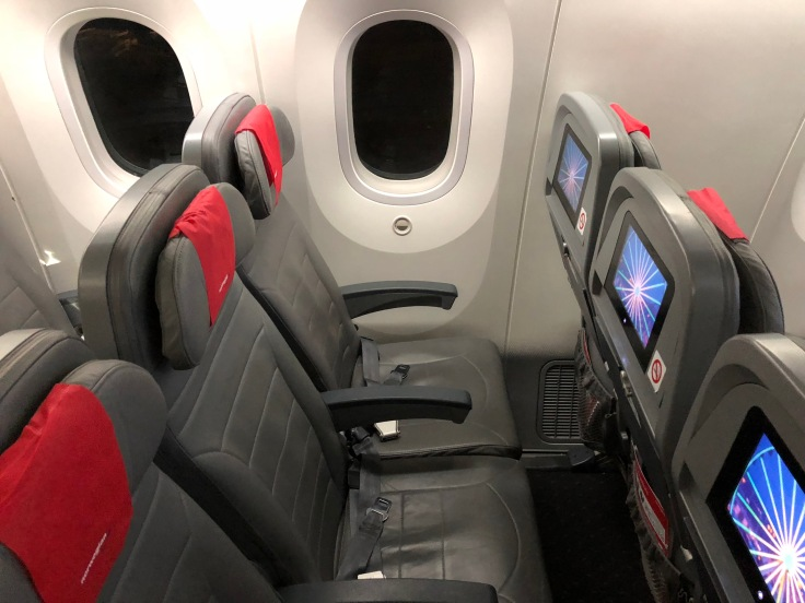 2019 Norwegian Air 02.5 legroom