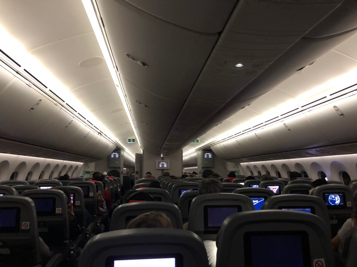 2019 Norwegian Air 02.5 lights on in the middle of the night