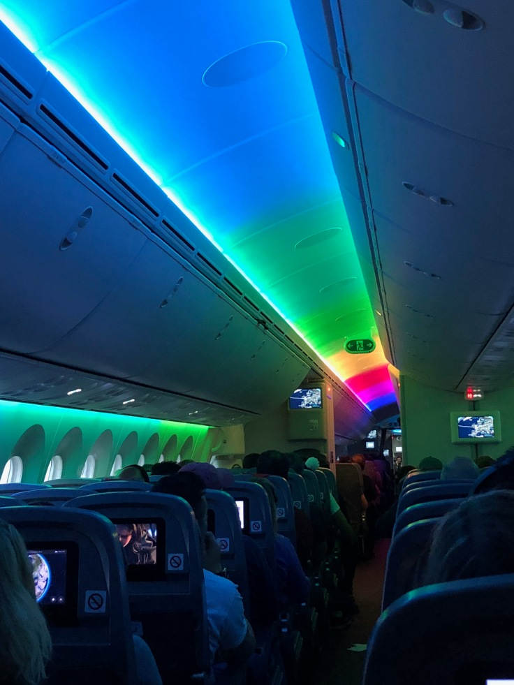 2019 Norwegian Air 02.5 rainbow moodlights