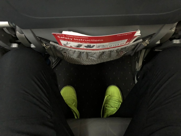 2019 Norwegian Air 03 seat floor space