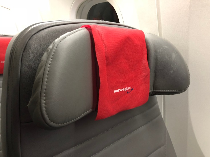 2019 Norwegian Air 03 seat head rest