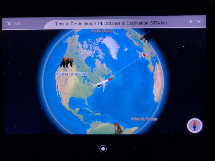 2019 Norwegian Air 04 moving map for kids