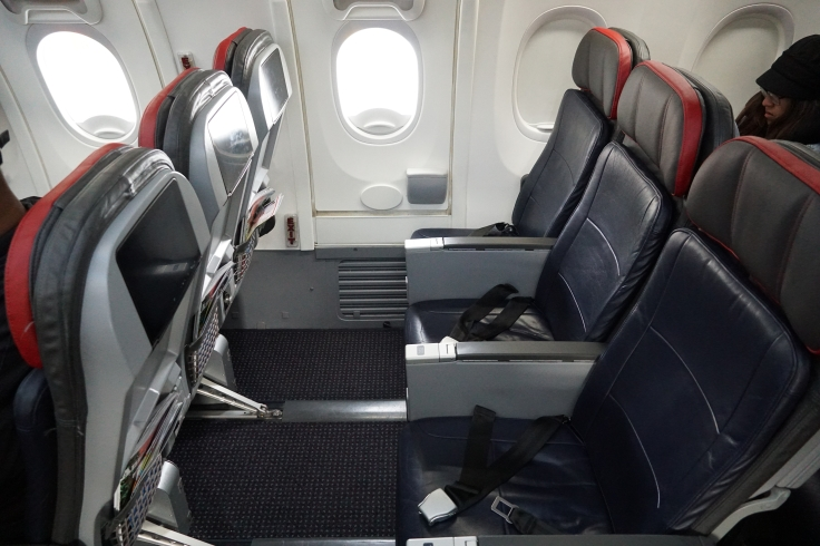 American Airlines Exit Row