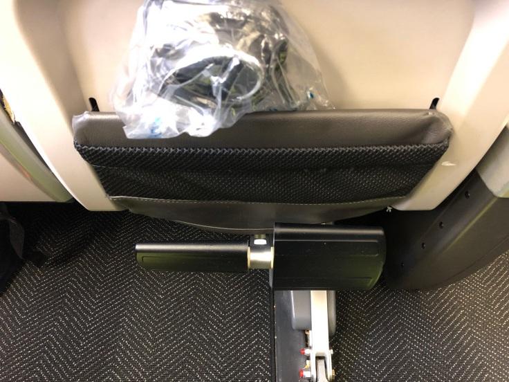 United Premium Economy Footrest