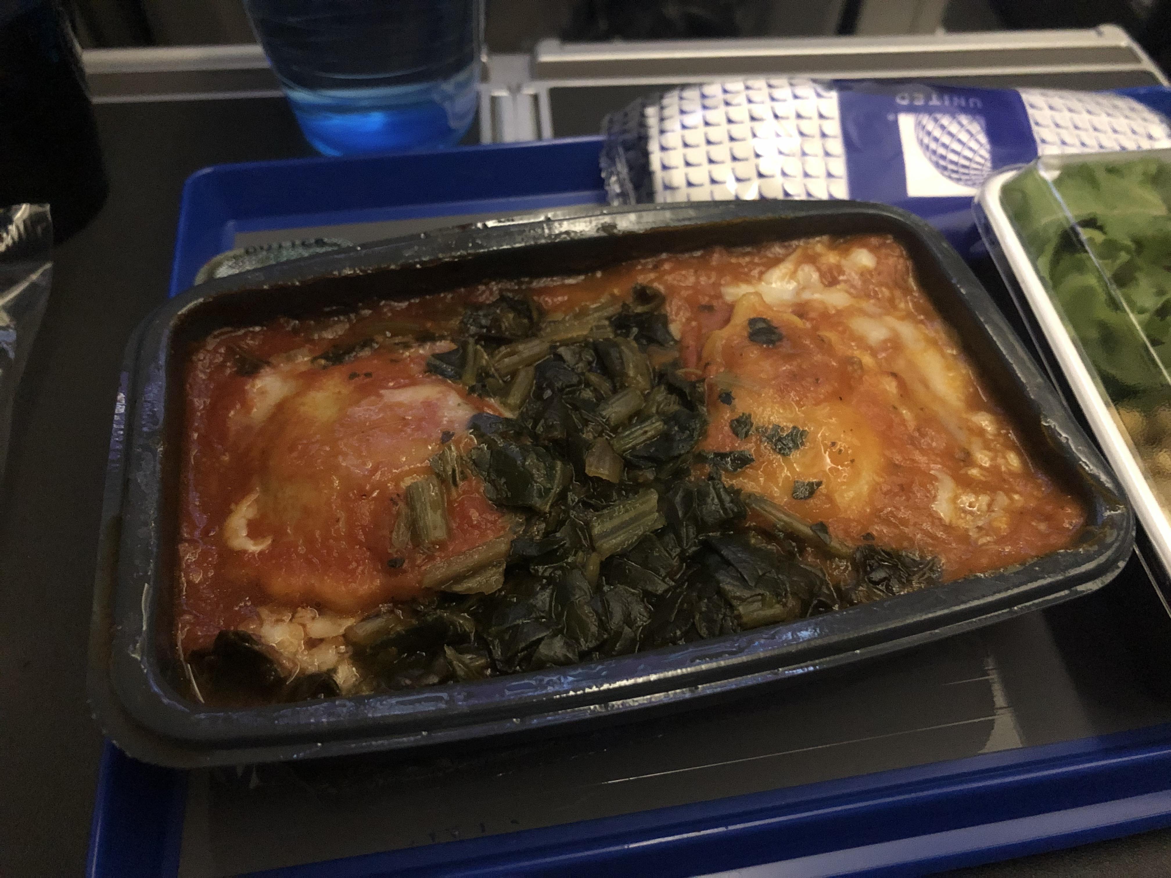 United Premium Economy Meal