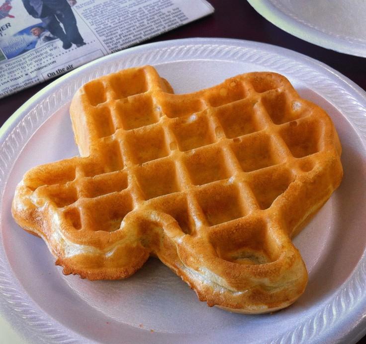 Obama Hampton Inn Texas Waffle