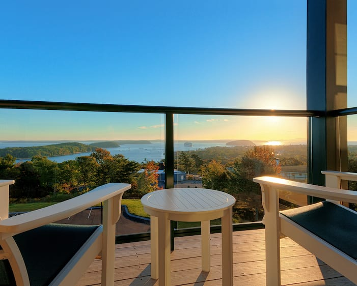 Obama Top 10 Hampton Inns Bar Harbor Balcony