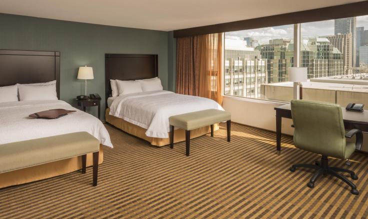 Obama Top 10 Hampton Inns Chicago Magnificent Mile Room