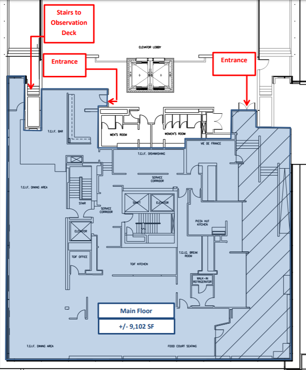 TDF February 20 2020 Dulles Airport Floor Plan