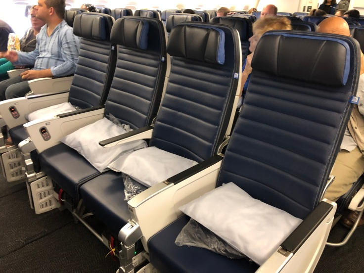 TDF February 20 2020 United Economy Seats Empty