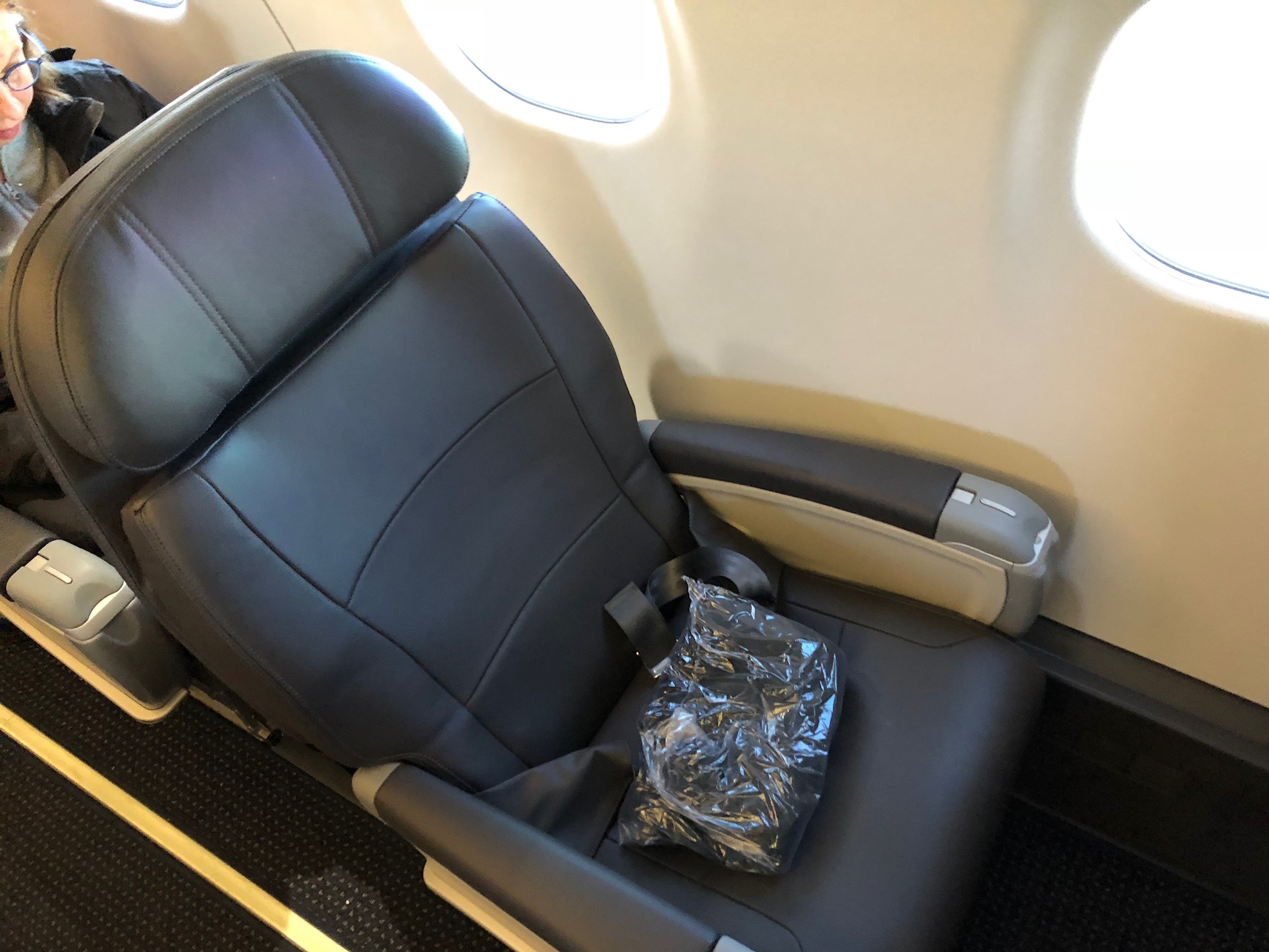 2020 american airlines domestic first hard seat