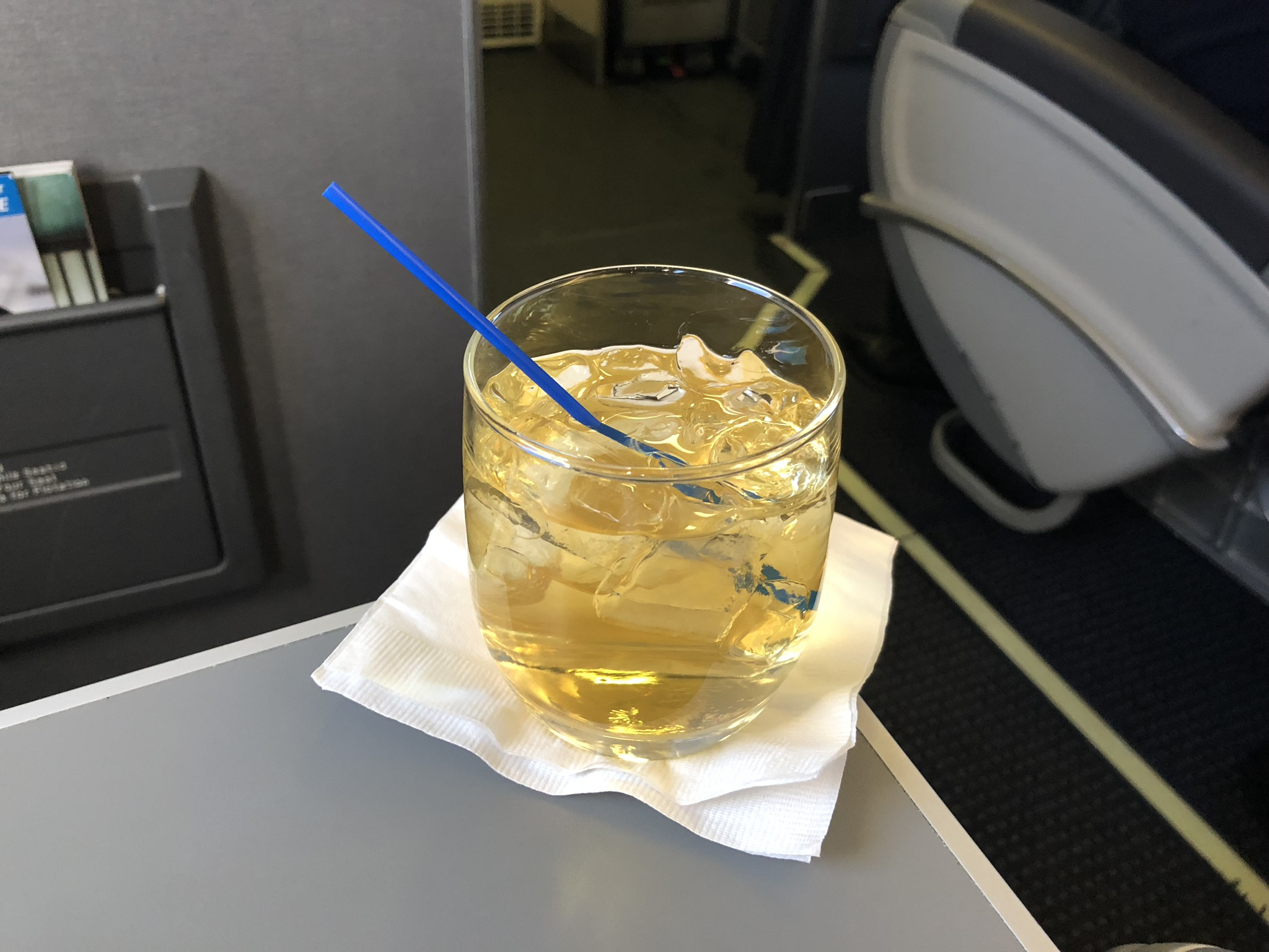 2020 american airlines domestic first soft vodka apple pie