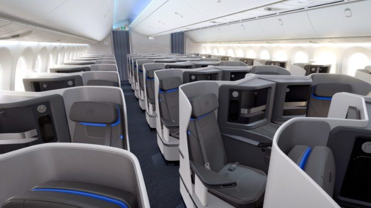 2020 Perceving Value Air Europa New Business Class