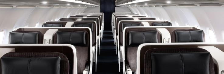 British Airways A318 Club World TDF